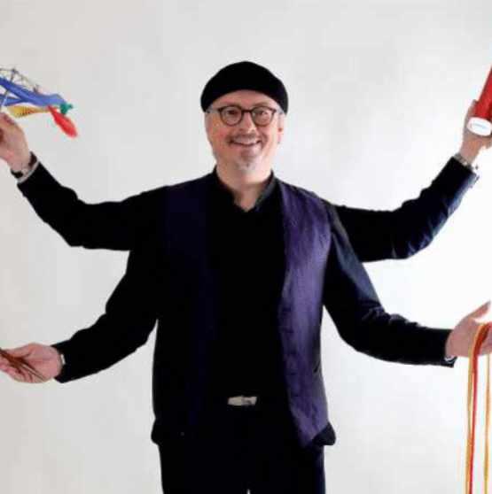 Zauberer, Ballonmodellierer und Discjockey BeLu